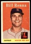 1958 Topps #473  Bill Renna  Front Thumbnail