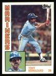 1984 Topps #41  Tony Bernazard  Front Thumbnail