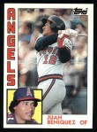 1984 Topps #53  Juan Beniquez  Front Thumbnail