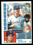 1984 Topps #60  Paul Molitor  Front Thumbnail