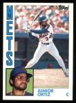 1984 Topps #161  Junior Ortez  Front Thumbnail