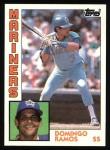 1984 Topps #194  Domingo Ramos  Front Thumbnail