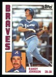 1984 Topps #289  Randy Johnson  Front Thumbnail
