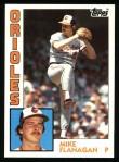 1984 Topps #295  Mike Flanagan  Front Thumbnail
