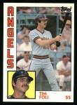 1984 Topps #342  Tim Foli  Front Thumbnail