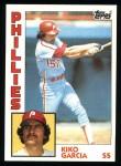 1984 Topps #458  Kiko Garcia  Front Thumbnail