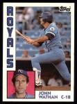 1984 Topps #602  John Wathan  Front Thumbnail
