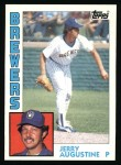 1984 Topps #658  Jerry Augustine  Front Thumbnail