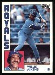 1984 Topps #685  Willie Aikens  Front Thumbnail