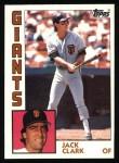 1984 Topps #690  Jack Clark  Front Thumbnail