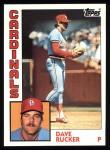 1984 Topps #699  Dave Rucker  Front Thumbnail
