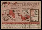 1958 Topps #263  Eddie Bressoud  Back Thumbnail