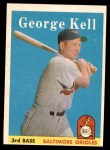 1958 Topps #40  George Kell  Front Thumbnail