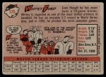 1958 Topps #320  Whitey Ford  Back Thumbnail