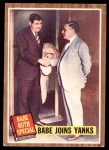 1962 Topps #136 NRM  -  Babe Ruth Babe Joins Yanks Front Thumbnail