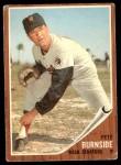 1962 Topps #207  Pete Burnside  Front Thumbnail