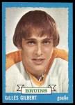 1973 Topps #74  Gilles Gilbert   Front Thumbnail