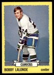1973 Topps #189  Bobby Lalonde  Front Thumbnail