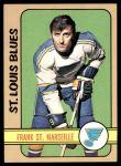 1972 Topps #71  Frank St.Marseille  Front Thumbnail