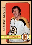 1972 Topps #13  Ed Johnston  Front Thumbnail