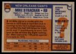 1976 Topps #353  Mike Strachan   Back Thumbnail