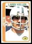 1978 Topps #247  Larry Keller  Front Thumbnail