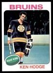 1975 Topps #215  Ken Hodge   Front Thumbnail