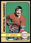 1972 Topps #57  Guy Lapointe  Front Thumbnail