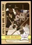 1972 Topps #125  Rod Gilbert  Front Thumbnail