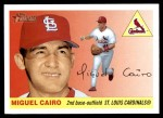 2004 Topps Heritage #193  Miguel Cairo  Front Thumbnail