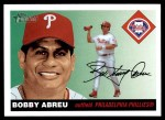 2004 Topps Heritage #158  Bobby Abreu  Front Thumbnail