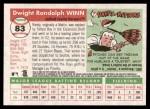 2004 Topps Heritage #83  Randy Winn  Back Thumbnail