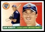 2004 Topps Heritage #114  Jon Knott  Front Thumbnail