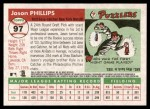 2004 Topps Heritage #97  Jason Phillips  Back Thumbnail