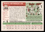2004 Topps Heritage #192  Travis Lee  Back Thumbnail