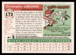 2004 Topps Heritage #172  Chris Lubanski  Back Thumbnail