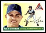 2004 Topps Heritage #39  Alex Cintron  Front Thumbnail