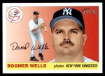 2004 Topps Heritage #96  David Wells  Front Thumbnail