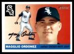 2004 Topps Heritage #60 RUN Magglio Ordonez  Front Thumbnail