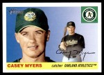 2004 Topps Heritage #84  Casey Myers  Front Thumbnail