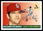 2004 Topps Heritage #148  Orlando Palmeiro  Front Thumbnail
