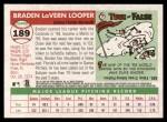 2004 Topps Heritage #189  Braden Looper  Back Thumbnail