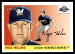 2004 Topps Heritage #133  Wes Helms  Front Thumbnail
