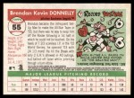 2004 Topps Heritage #55  Brendan Donnelly  Back Thumbnail
