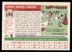 2004 Topps Heritage #162  Lance Carter  Back Thumbnail