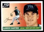 2004 Topps Heritage #162  Lance Carter  Front Thumbnail