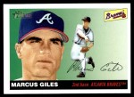 2004 Topps Heritage #68  Marcus Giles  Front Thumbnail