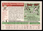 2004 Topps Heritage #17  Bernie Williams  Back Thumbnail