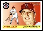 2004 Topps Heritage #176  John Lackey  Front Thumbnail
