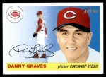2004 Topps Heritage #5  Danny Graves  Front Thumbnail
